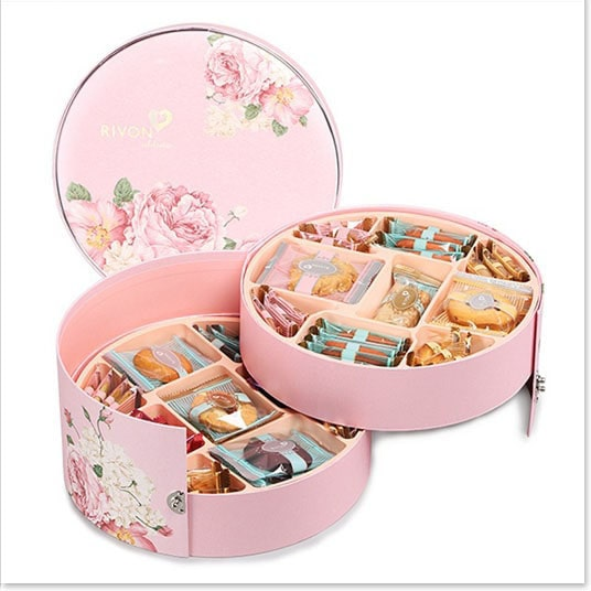 Custom Round Cookie Gift Boxes
