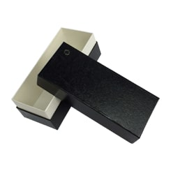 Black Paper Shoulder Boxes for Jewelry