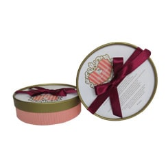 Bow-tie Round Chocolate Boxes